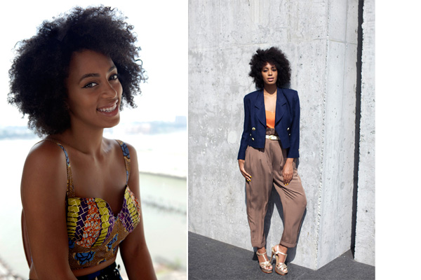 Hair Icon September:  Solange Knowles