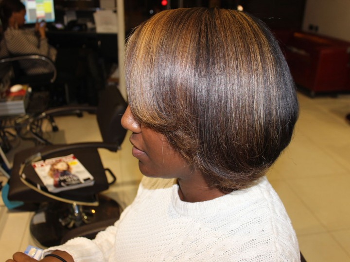 Salon Work| Half head of highlights