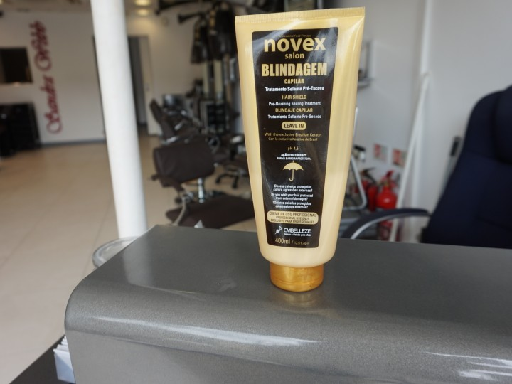 Product Spotlight| Novex Blindagem capila Leave in Conditioner