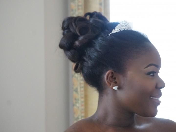 Bridal series| Loose bun